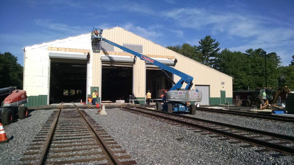 Nnepra Amtrak Layover Facility Sheridan Construction