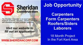 Job Opportunity - Fort Kent, Maine